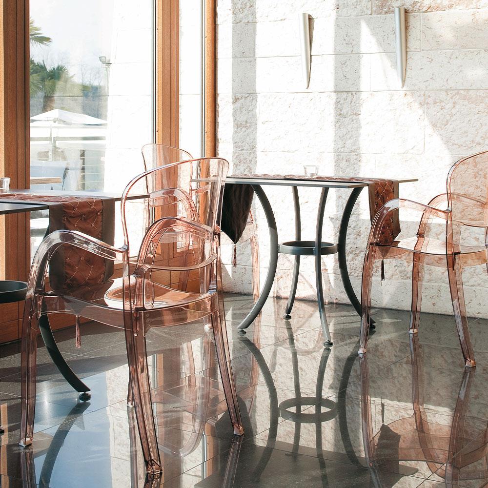 sedie bar firenze sedia trasparente JOKER