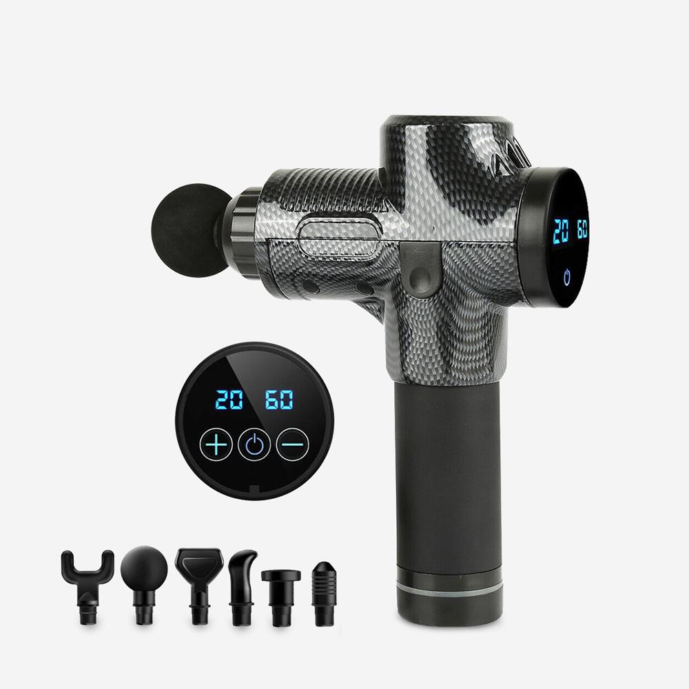 Pistola massaggiante muscolare cellulite 30 velocità touchscreen Ken