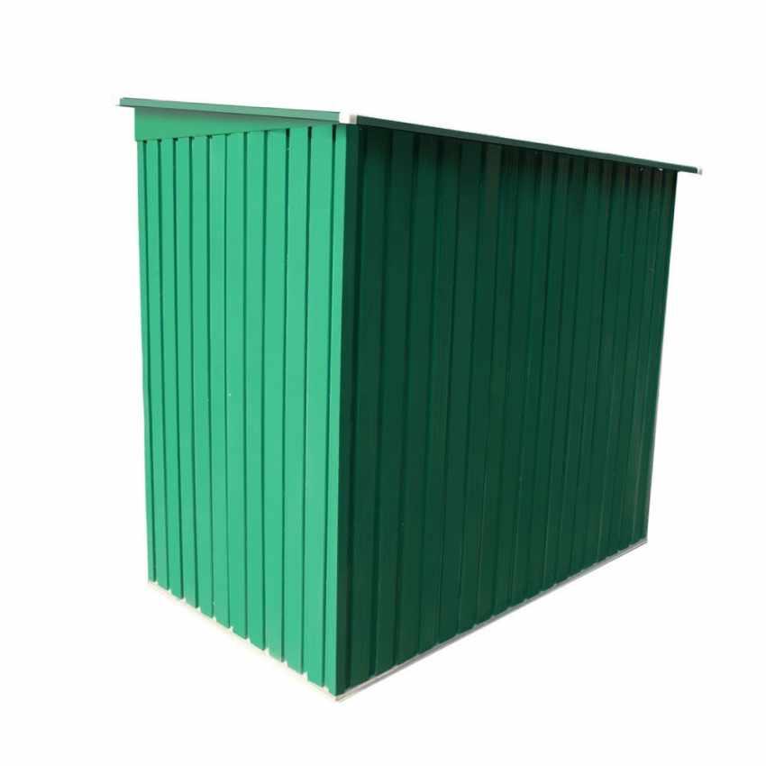 Box in lamiera zincata verde casetta giardino attrezzi ripostiglio MEDIUM - promo