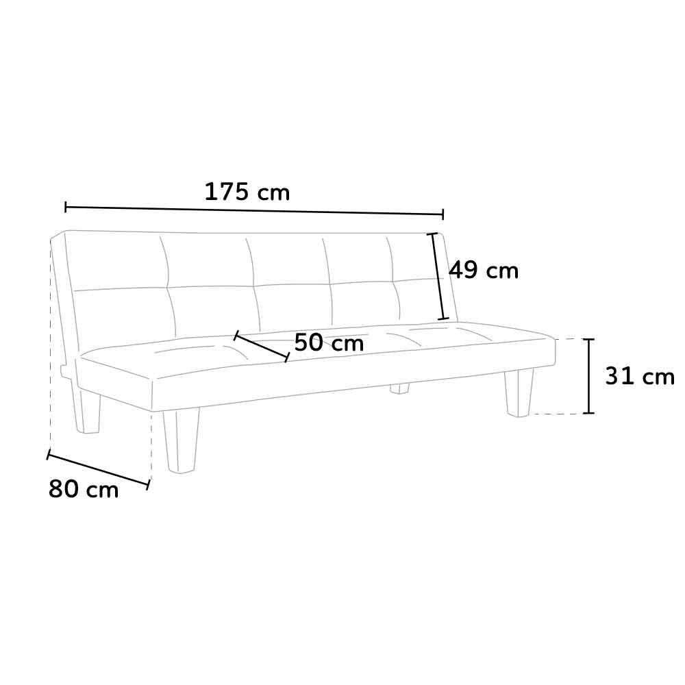 Canape-Clic-Clac-convertible-3-sieges-similicuir-economique-TOPAZIO miniature 18