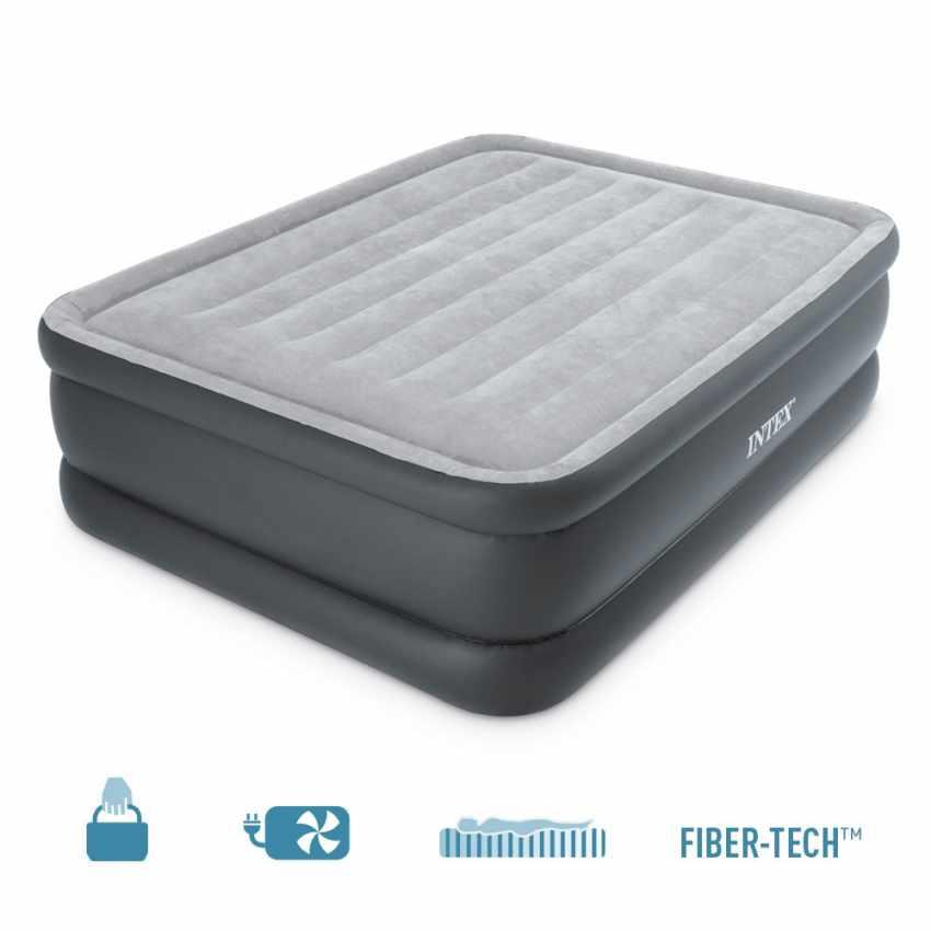 Matelas gonflable Intex 64140 lit double de camping 152x203x51 - migliore