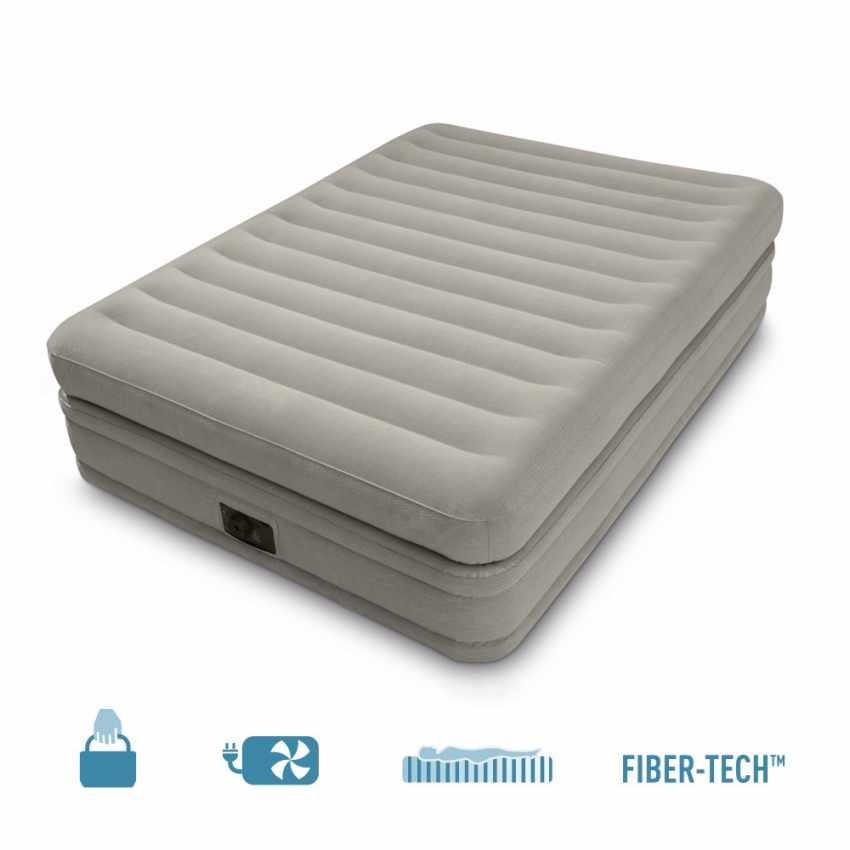 Intex 64446  Matelas Gonflable 2 Personnes Confort Fiber-Tech - interno