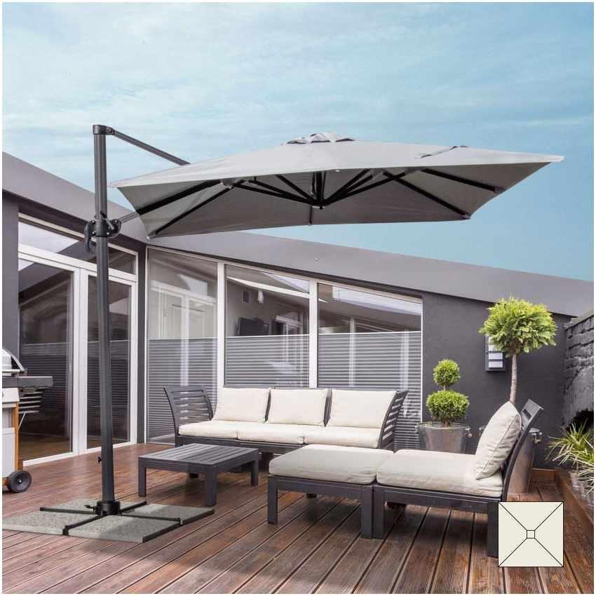 Ombrellone giardino 2,5 metri quadrato braccio alluminio bar hotel PARADISE - image