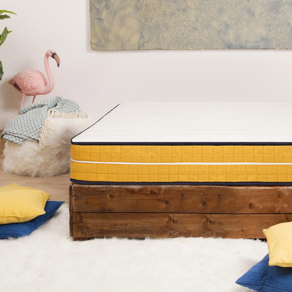 Materasso singolo memory foam 7 zone sfoderabile 25cm 80x190cm Veradea