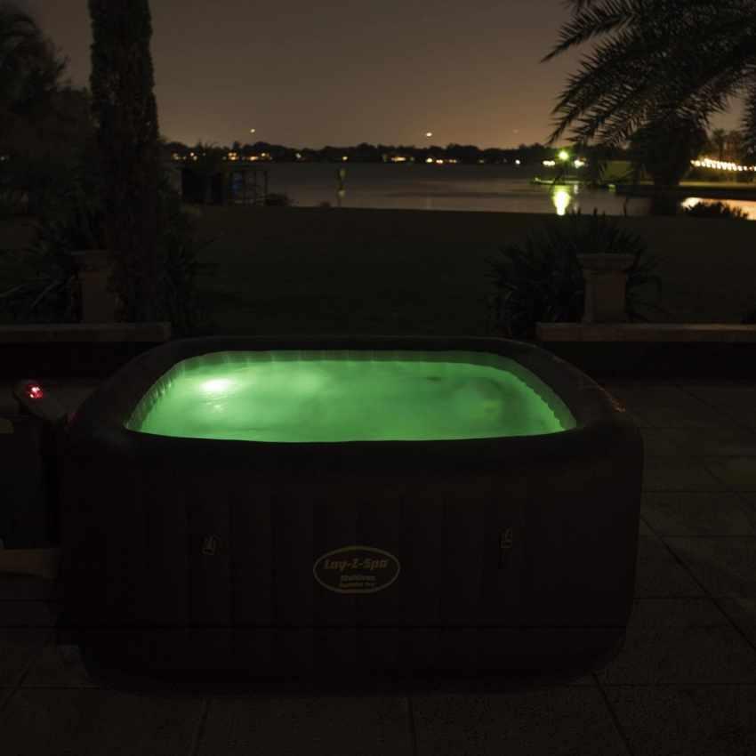 Bestway 54173 Lay Z Maldive Inflatable Hot Tub Spa Hydro