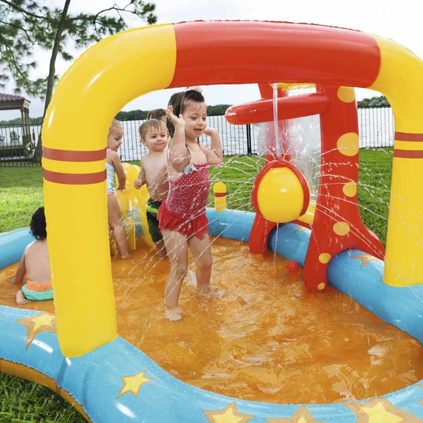 Inflatable kiddie pool for kids with games Bestway 53068 - nuovo