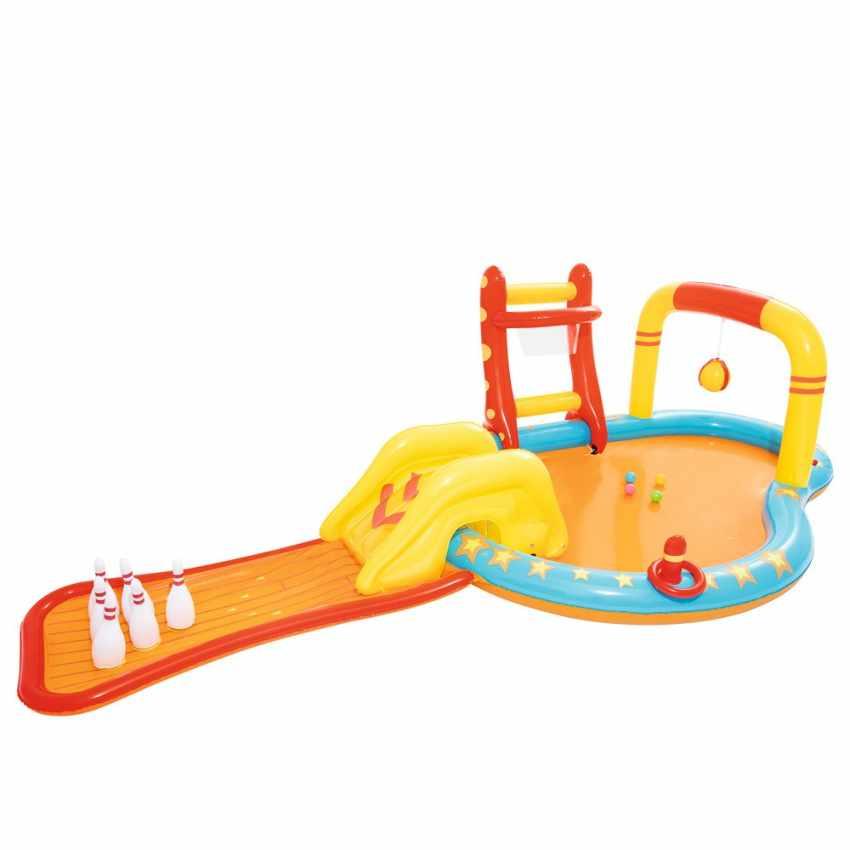 Inflatable kiddie pool for kids with games Bestway 53068 - interno