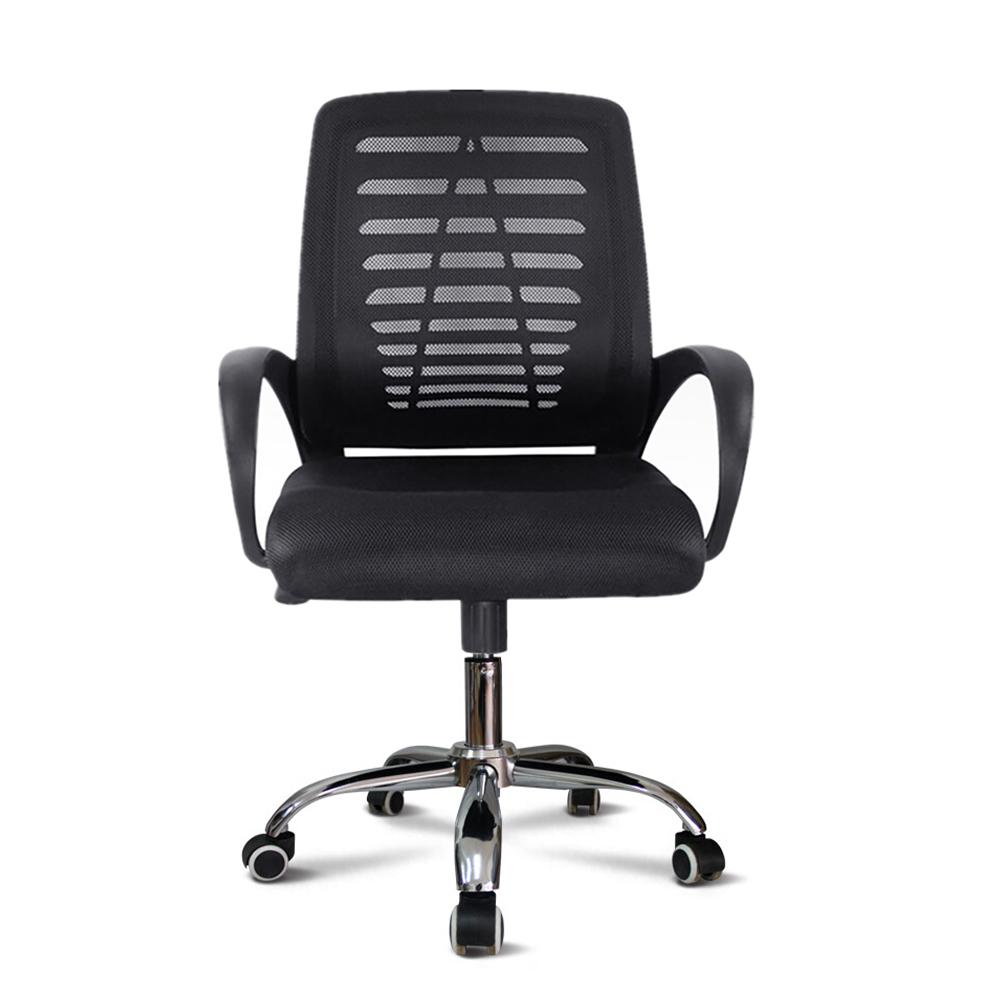 Sedia ufficio ergonomica girevole imbottita tessuto traspirante Opus