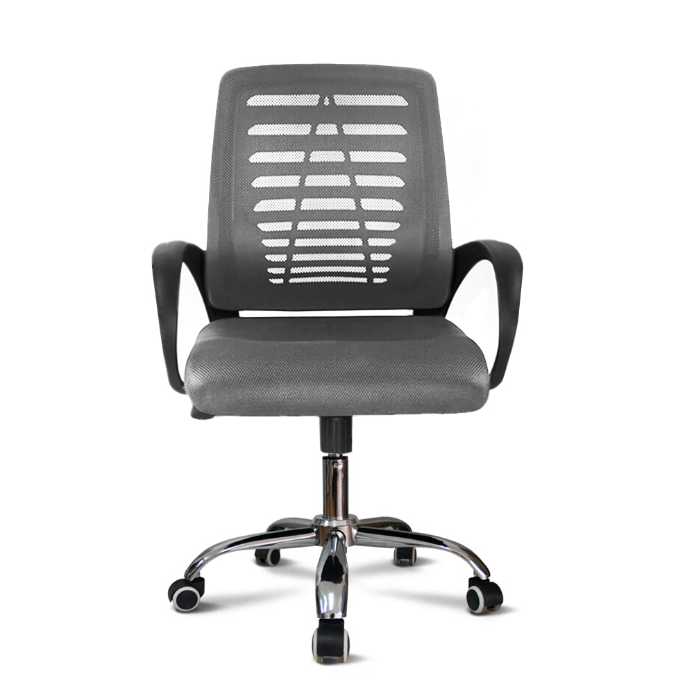 Sedia ufficio ergonomica tessuto traspirante imbottita girevole Opus Moon