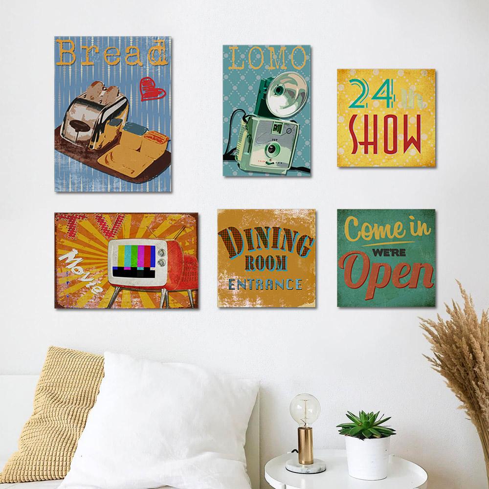 flat paintings airbnb TEMA MOOD