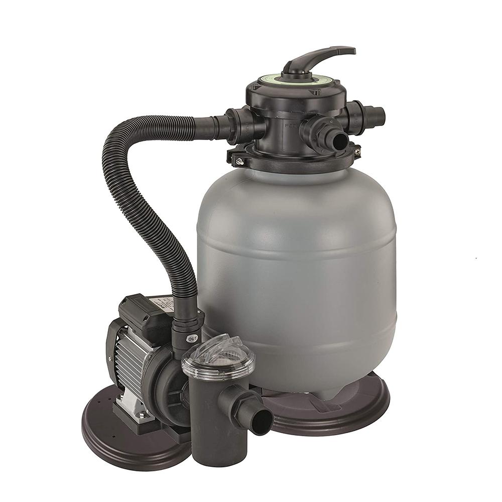 Pompa filtro a sabbia 5 m3/h per piscina fuoriterra NewPlast 2205