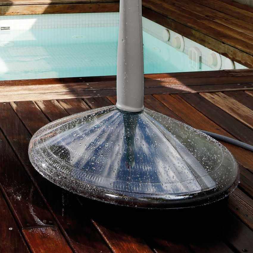 Doccia Solare Riscaldata Portatile per Piscina Giardino SUNNY - indoor