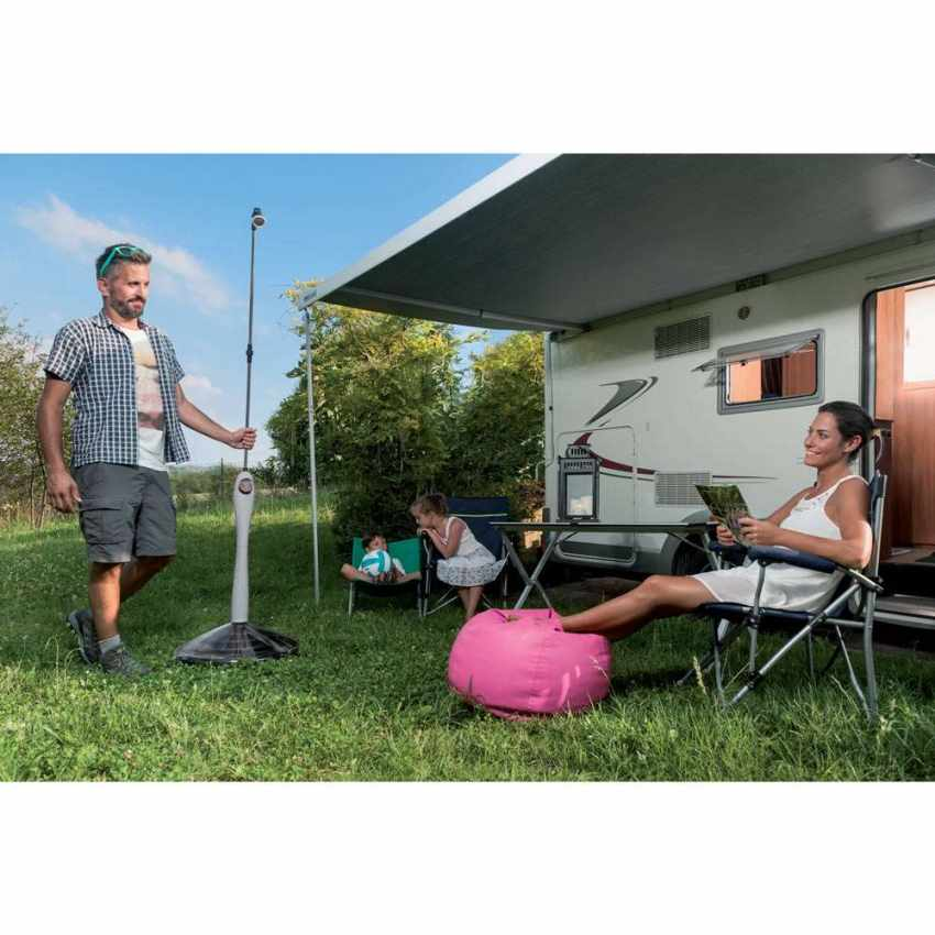 Portable Hot Solar Shower for Water Heating SUNNY STYLE - indoor