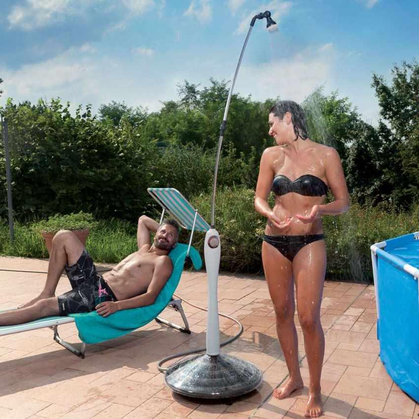 Doccia Solare Riscaldata Portatile per Piscina Giardino SUNNY - offert