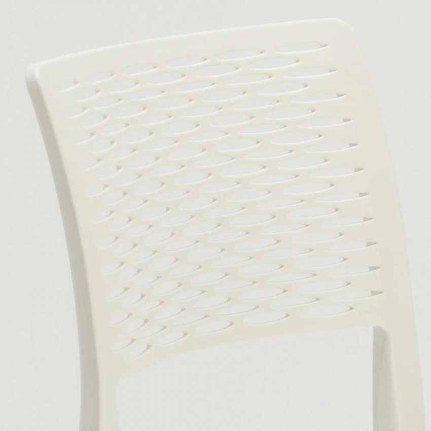 Stackable Chair for Kitchens and Gardens Weatherproof Anti UV CROSS - best