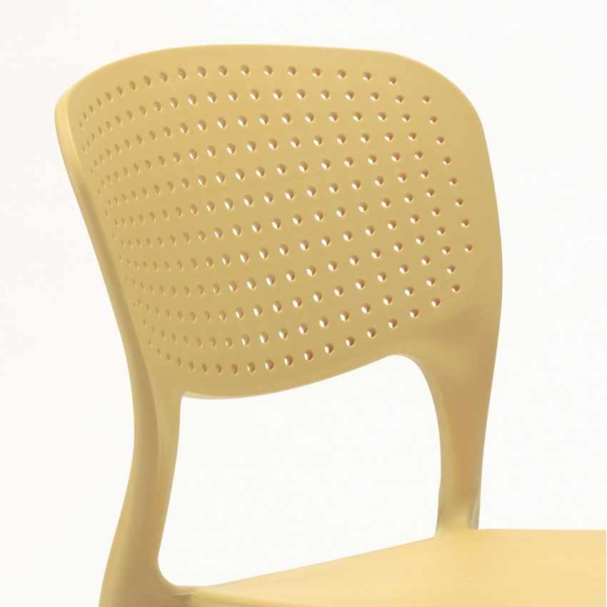 Sedia da Cucina e Bar Impilabile e Lavabile per Interni ed Esterni GARDEN GIULIETTA - migliore