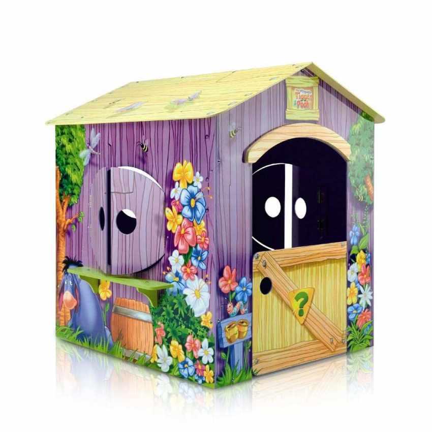 Häufig Pu der Bär SpielHaus aus Holz für Kinder Außen- und Innenbereich GR53