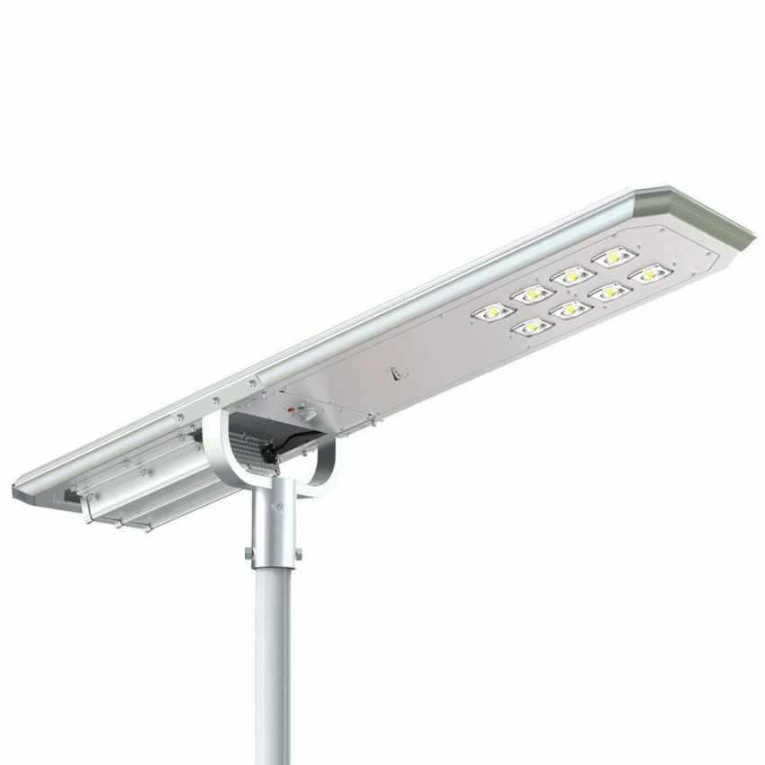 Lampione LED a Energia Solare 7000 Lumen MAZINGA con Sensore Crepuscolare e di Movimento - price