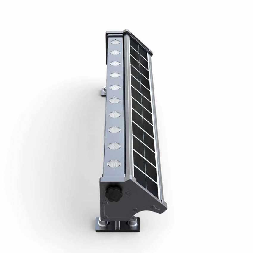 LED Solarlampe Solarleuchte für Beleuchtung von Werbetafeln und Plakate BILLBOARD - best