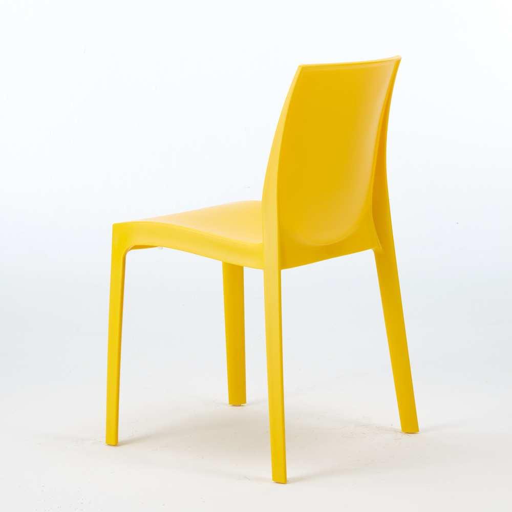 Sedie polipropilene impilabile design moderno cucina casa for Sedie design ebay