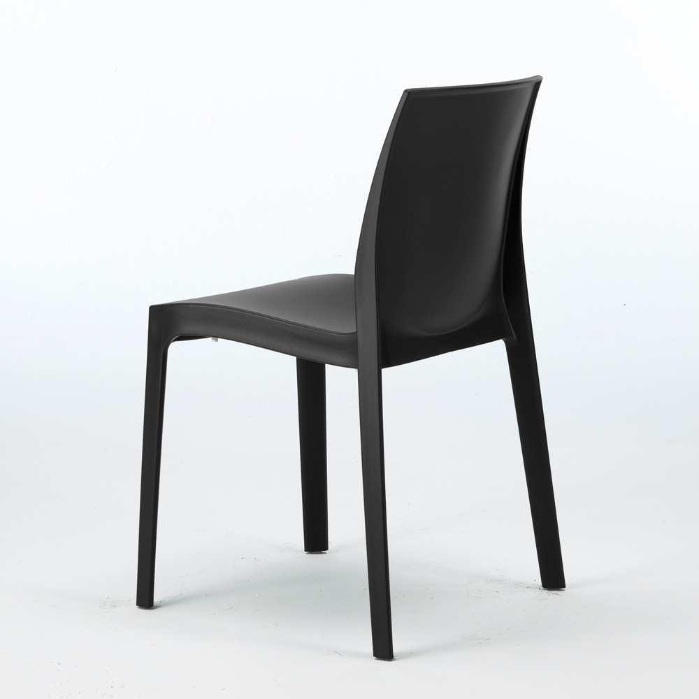 sedie polipropilene impilabile design moderno cucina casa
