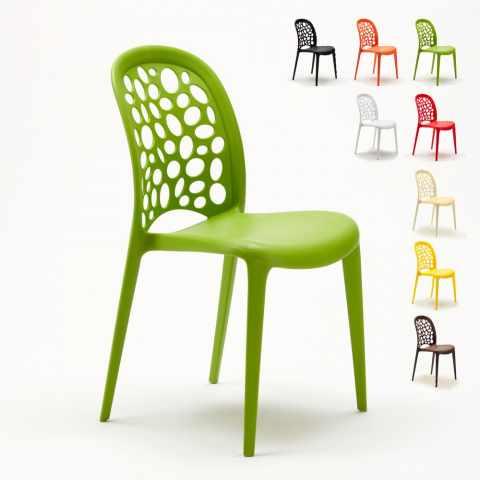 Sedie Verdi Di Plastica.Sedie Design Moderno Per Cucina Bar E Locali Modelli E Prezzi