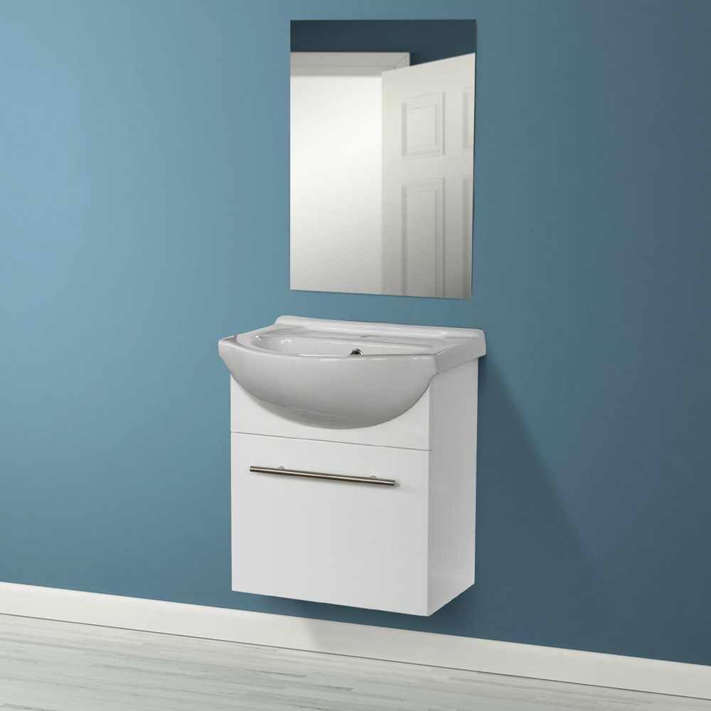 Deco-pour-la-salle-de-bain-Complet-de-Meuble-Evier-et-Miroir-ANDROMEDA miniature 16