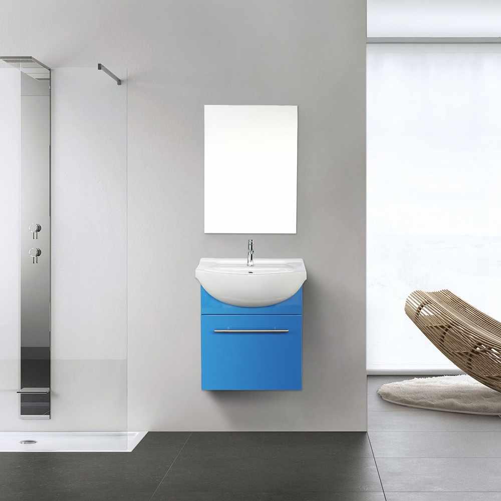 Deco-pour-la-salle-de-bain-Complet-de-Meuble-Evier-et-Miroir-ANDROMEDA miniature 23