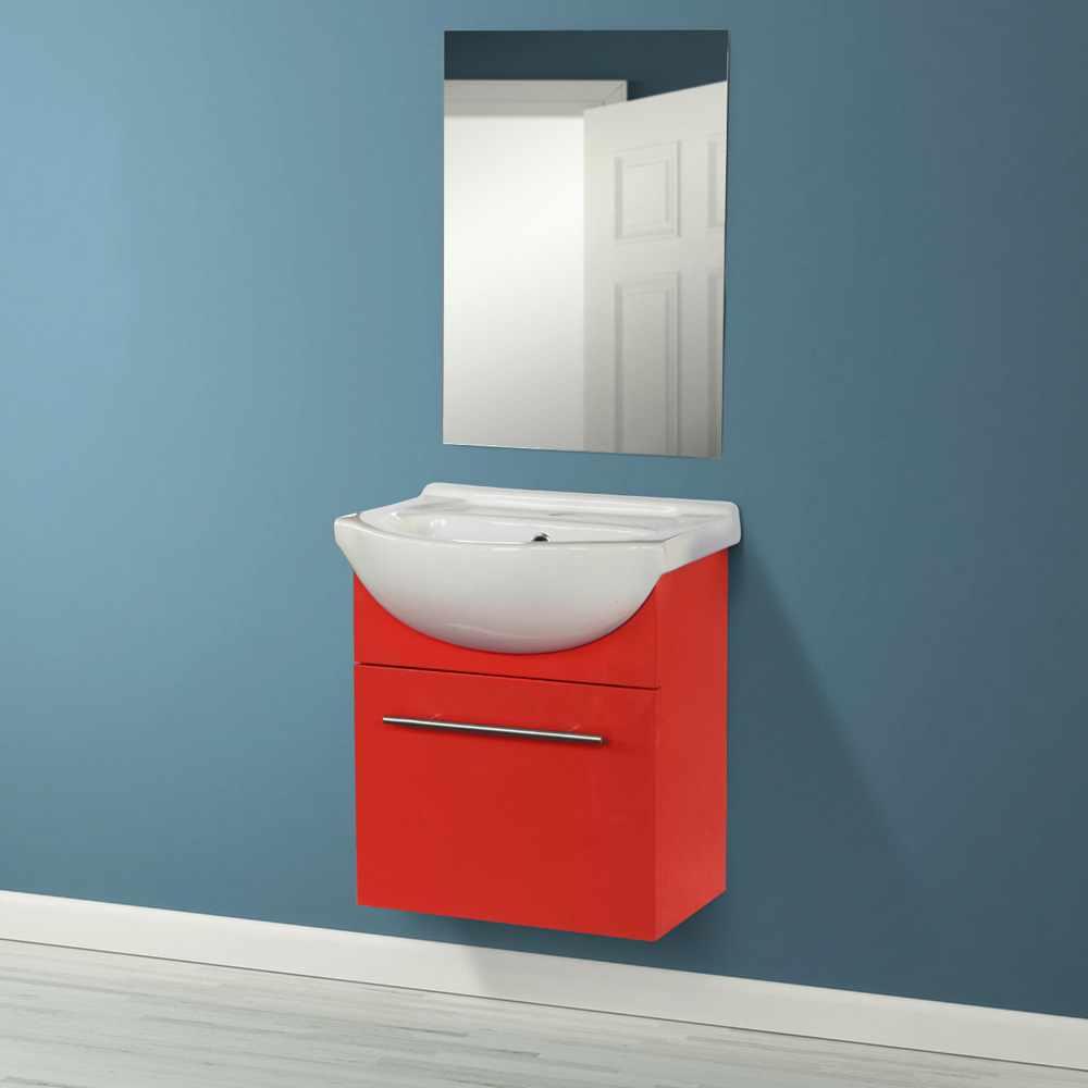 Deco-pour-la-salle-de-bain-Complet-de-Meuble-Evier-et-Miroir-ANDROMEDA miniature 32