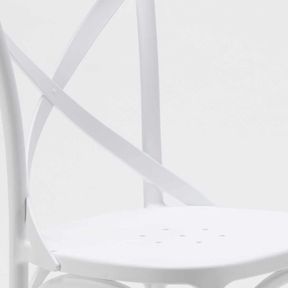 Stock-20-chaises-restaurant-bar-polypropylene-VINTAGE-brasserie miniatuur 26