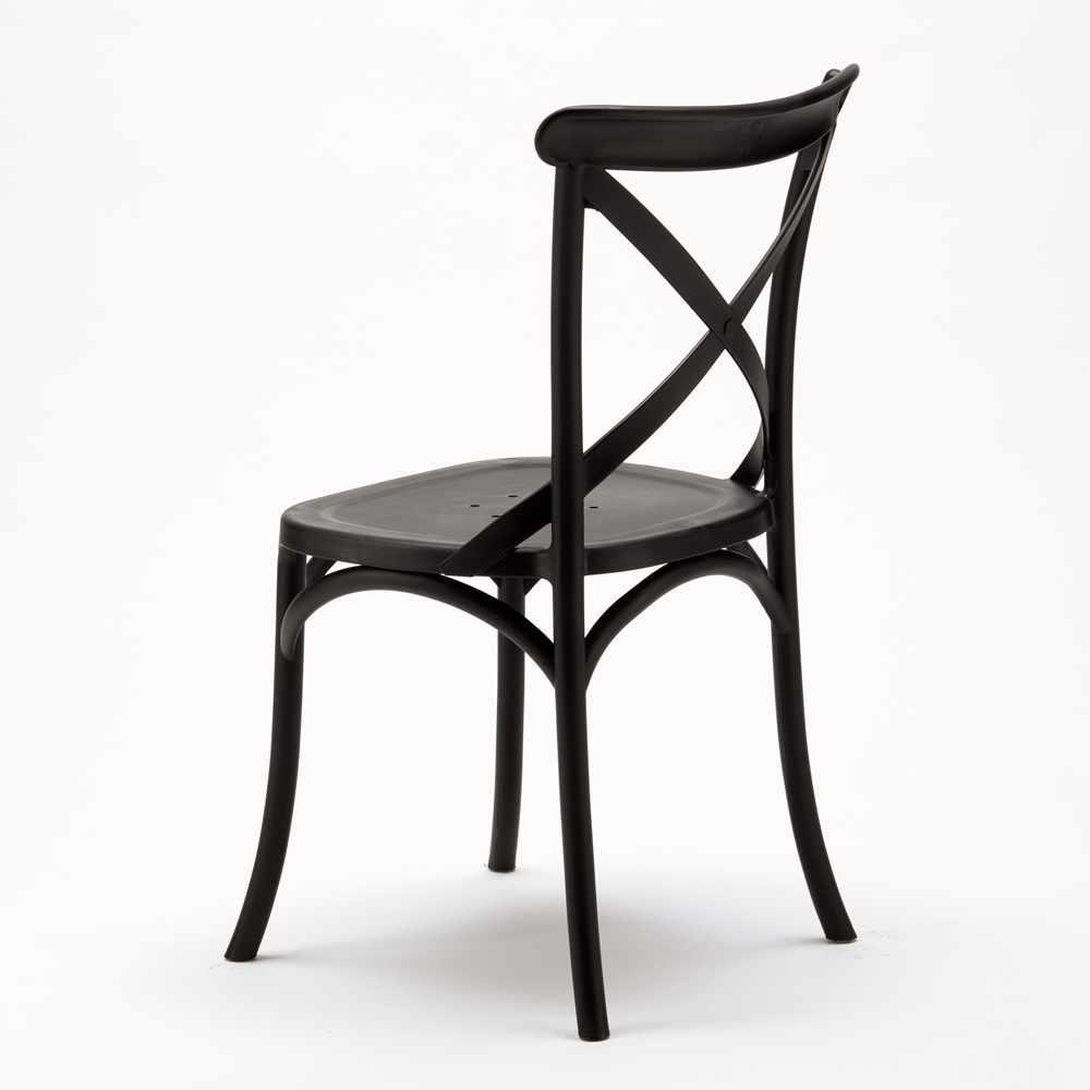 Stock-20-chaises-restaurant-bar-polypropylene-VINTAGE-brasserie miniatuur 19