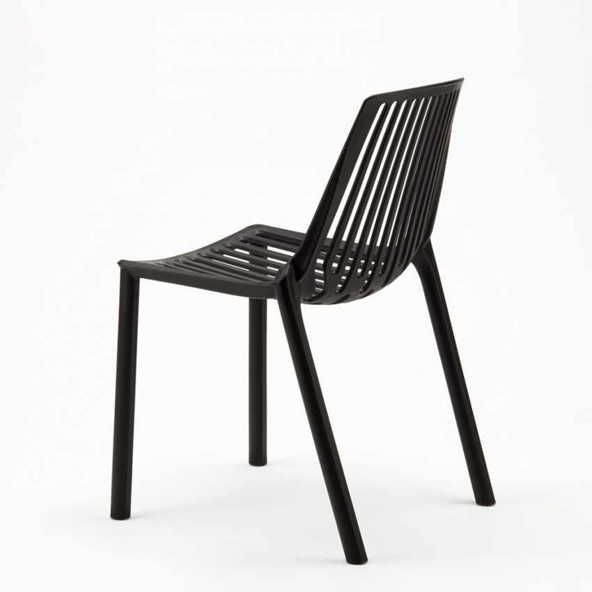 Indoor and Outdoor Chair for Home Interiors and Restaurants Stackable LINE - sales