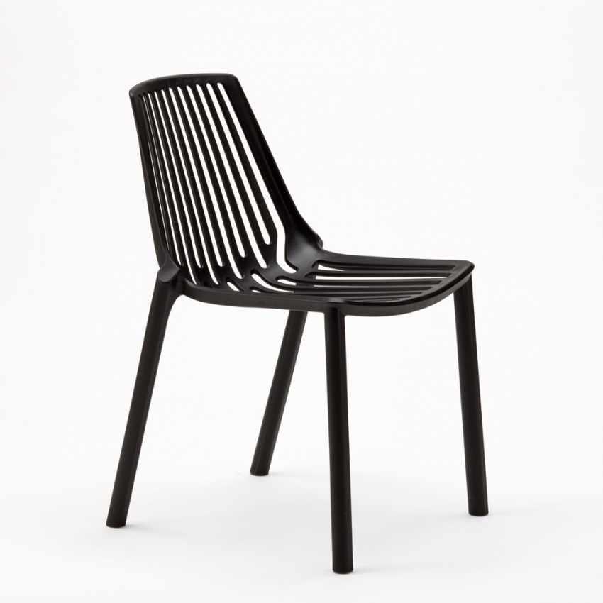 Indoor and Outdoor Chair for Home Interiors and Restaurants Stackable LINE - offert