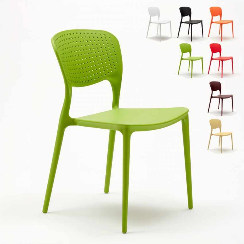 Lot of 20 Polypropylene Design Chair Vintage Style Home Interiors Restaurants - best