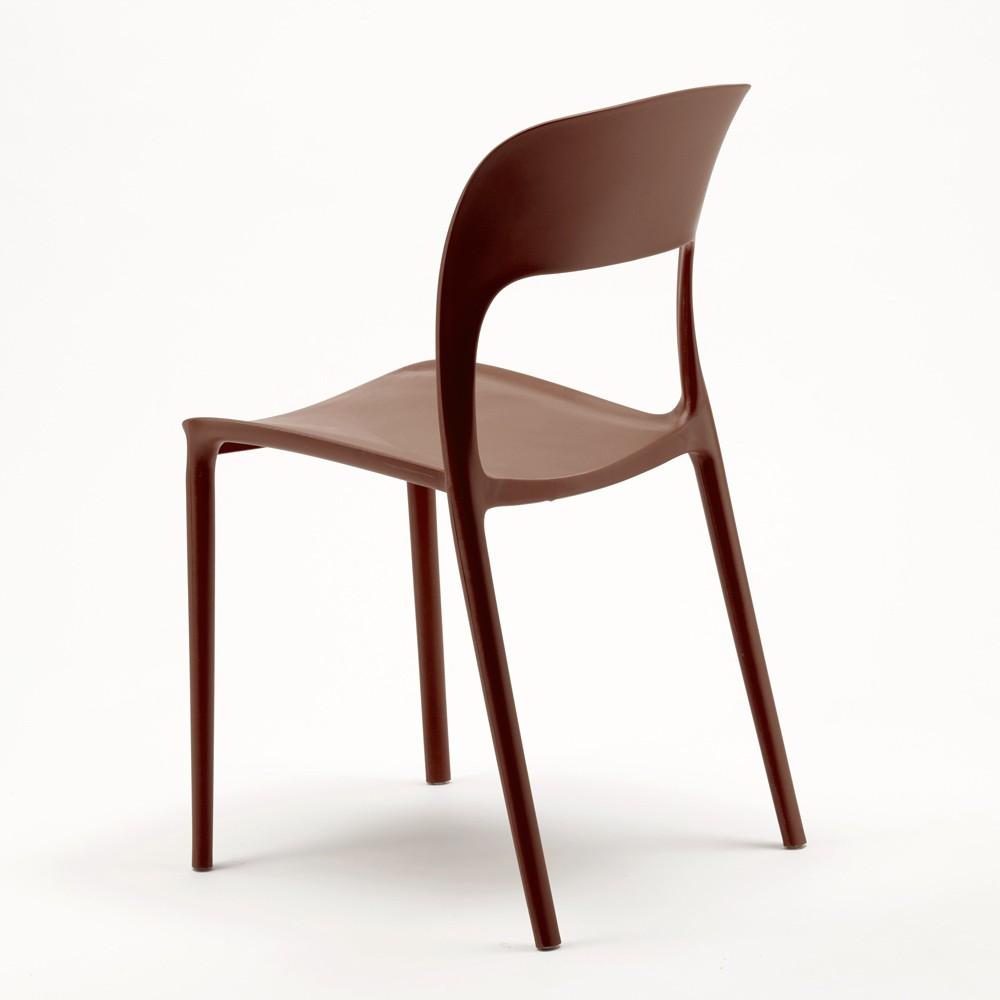 Sedie Per Cucina Colorate.Sedie Cucina Casa Bar Ristorante In Polipropilene Colorate Design
